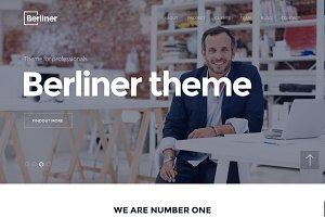 BERLINER - Bootstrap HTML5 Template