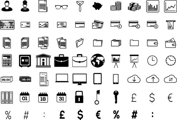 Accountant Icons