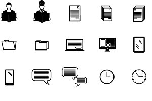 Adult classes icons