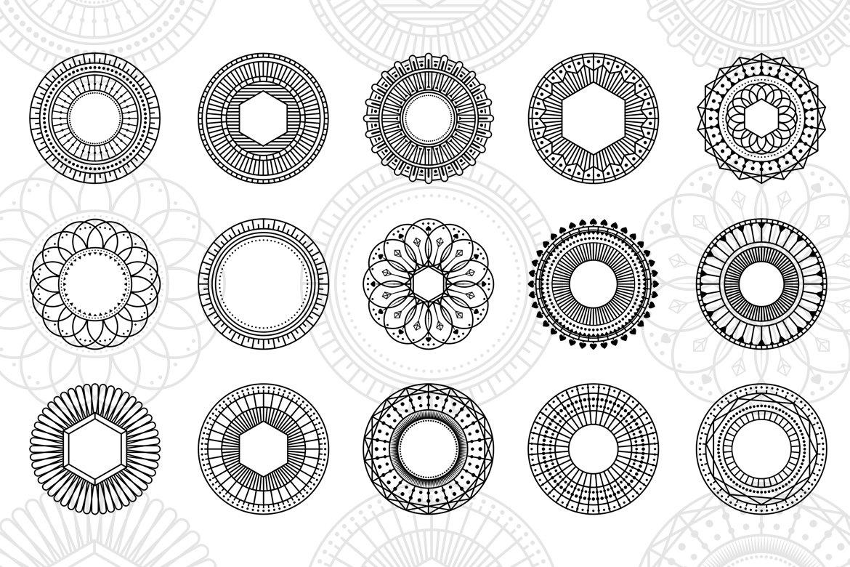 100 Geometric Vector Shapes CSH 1548926 - Kho Đồ Họa