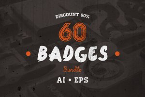 60 Badges Bundle • Discount 60%