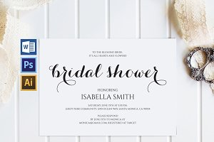 Bridal Shower Invitation Wpc 130
