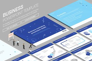 Business Powerpoint Template vol.15