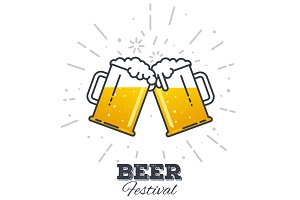 Beer festival icon