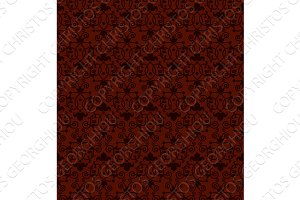 Seamless tiling antique pattern