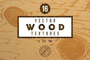 16 Vintage Wood textures