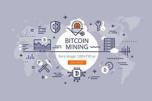 Bitcoin mining hero banner