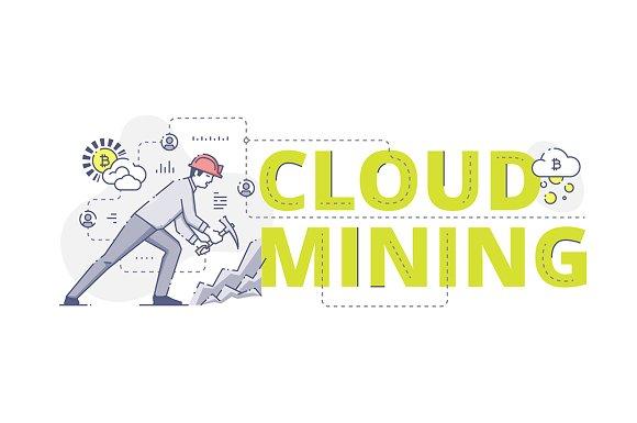 Cloud Mining Web Banner