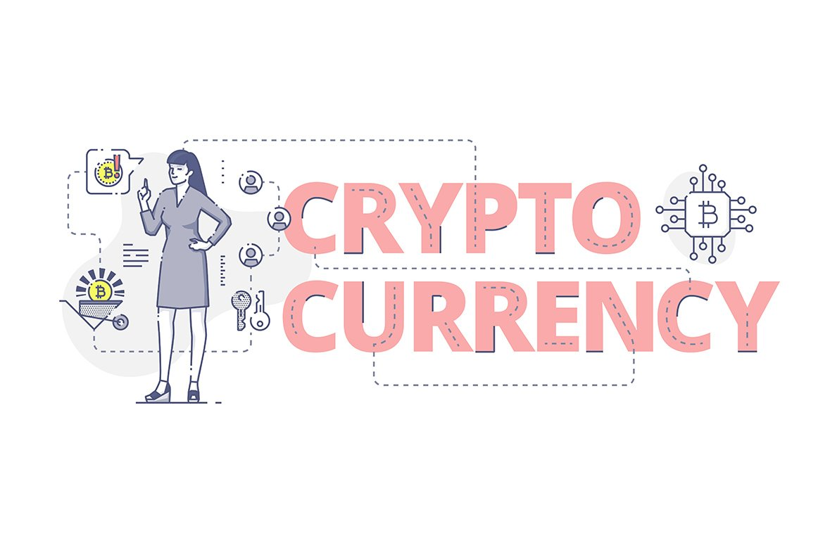 Crypto currency global banner set web elements creative market crypto currency web banner biocorpaavc