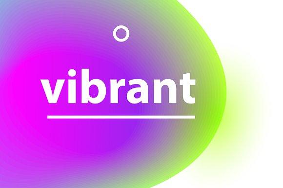 Vibrant Gradient Blobs
