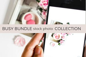 Busy Bundle (46 Stock Photos)