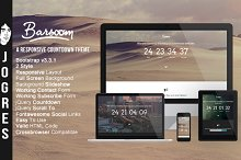 Barsoom - Responsive Countdow Theme