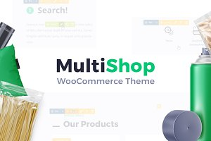 MultiShop - Multipurpose WP Theme