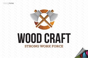 Wood Craft Logo