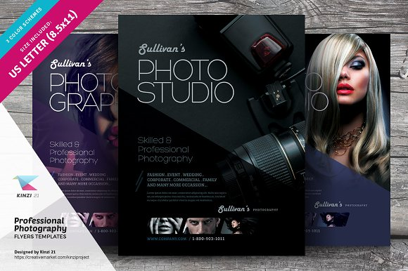 Professional Photography Flyer ~ Flyer Templates ~ Creative Market