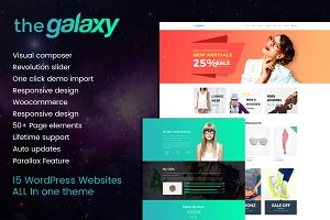 The Galaxy - Design-Driven Theme