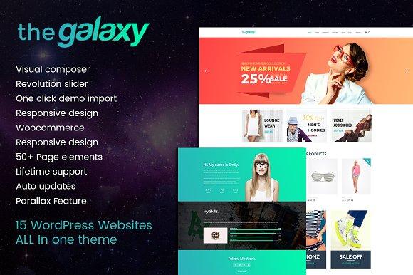 The Galaxy - Design-Driven Theme