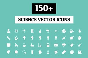 150+ Science Vector Icons