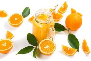 Squeezed orange drink