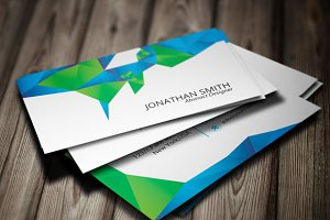 Abstract Business Card-v01