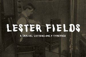 Lester Fields Display Typeface