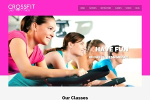 Crossfit - Gym WordPress Theme