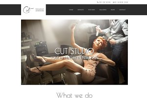 Cut - Hair Salon WordPress Theme