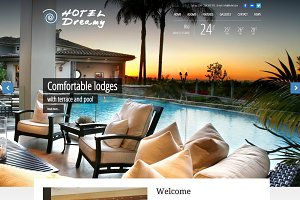 Dreamy - Hotel WordPress Theme