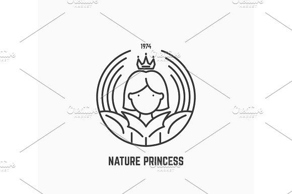 Nature Princess Logo