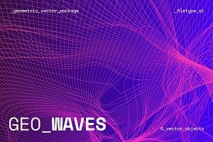 GEO_WAVES Vector Pack
