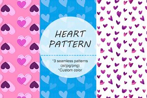 ORIGINAL HEART THEME SEAMLESS PATTER