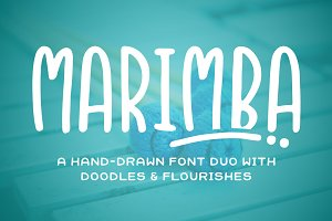 Marimba Font Duo