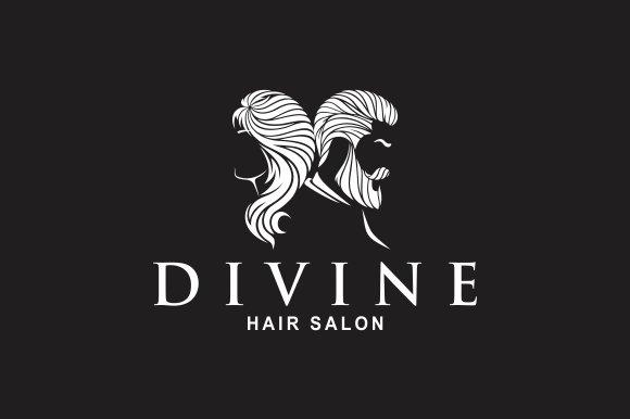Hair Salon Logo Templates Creative Market