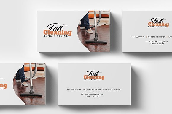 Cleaning business card template business card templates cleaning business card template business cards accmission Images