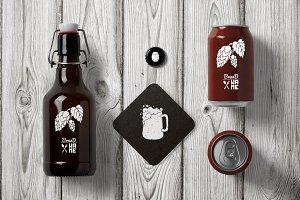 4 Beer Logos