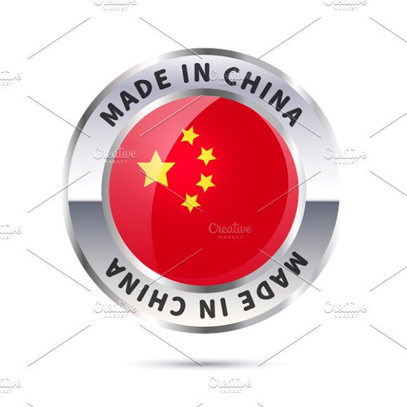 Metal Badge Icon Made In China