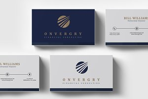 Financial Consulting Business Card