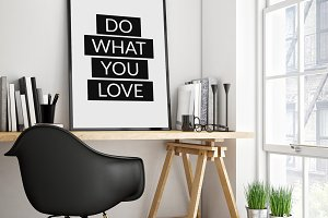 Do What You Love - workplace poster