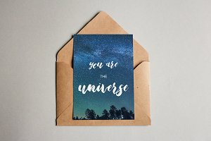 You Are The Universe - print