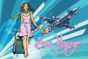 Bon voyage space travel, space tourism