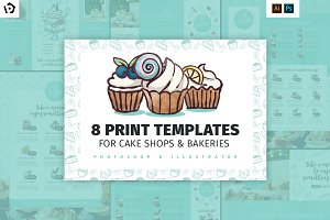Cake Shop Templates Pack