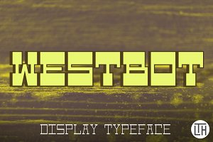 Westbot Typeface