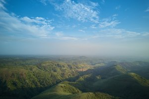 Mountain landscape in Nicaragua