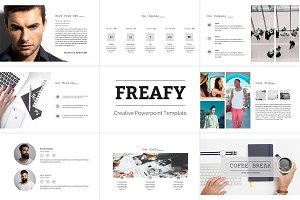 Freafy Creative Powerpoint Template