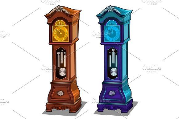 Stylish Antique Grandfather Clocks