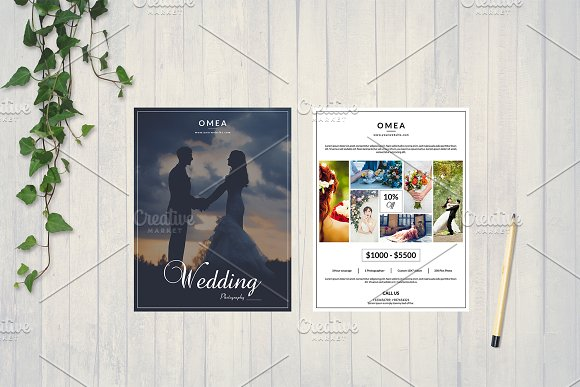Wedding Photography Flyer V575