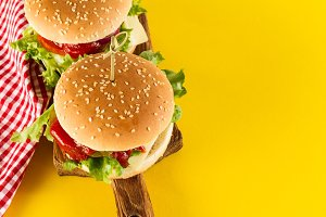 Fast Food Concept. American Food