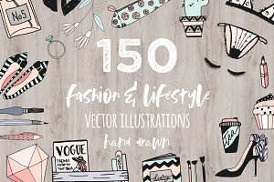 Fashion/Lifestyle illustration pack