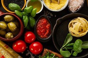 Food Concept Tasty Ingredients