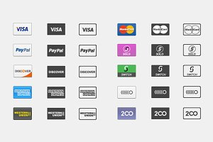 Complete Payment Icon Pack